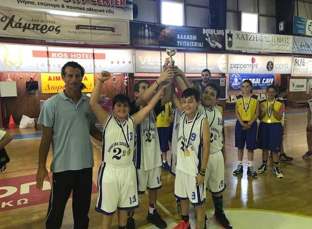 Πρωτάθλημα καλαθοσφαίρισης Δημοτικών Σχολείων 2016-17
